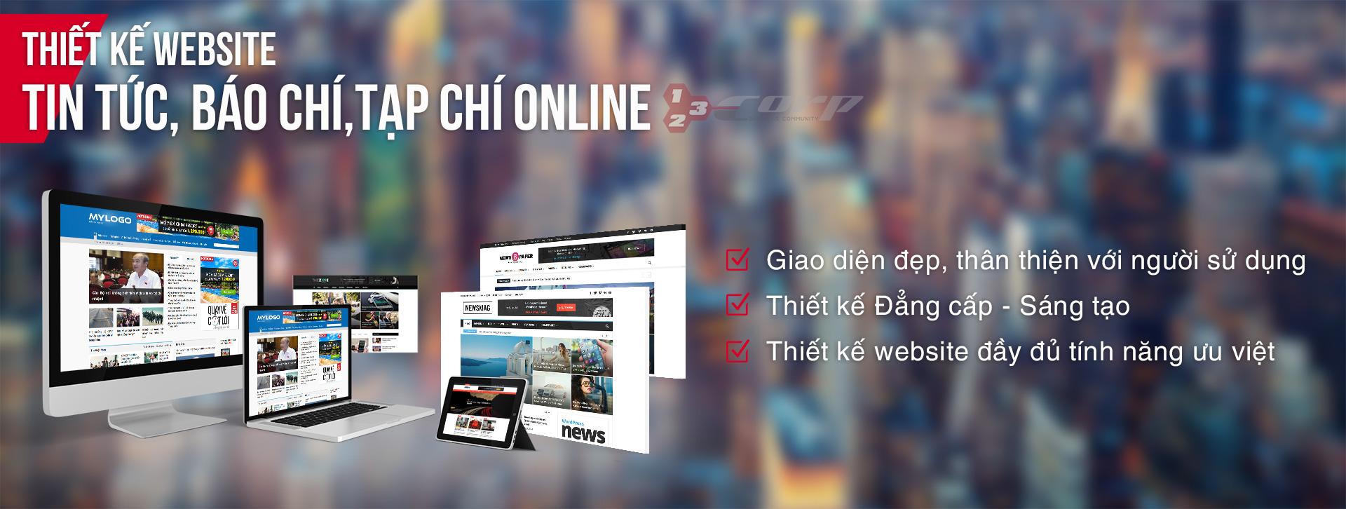 thiết kế web tin tức tại Đà Nẵng